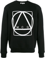 McQ by Alexander McQueen Graphic sweatshirt - men - Cotton - S