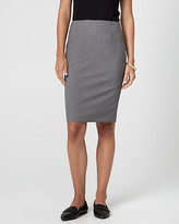 Le Château Viscose Blend Pencil Skirt