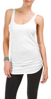 Casual Cotton Slub Scoop Neck Tank