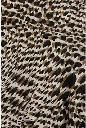 Quiz Ditsy Print Georgette Frill Long Sleeve Peplum Top