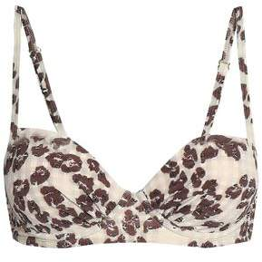 Heidi Klein Leopard-print Bikini Top