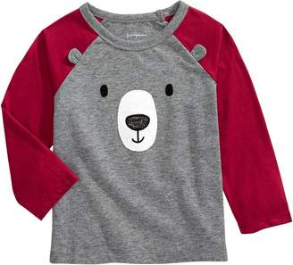 First Impressions Baby Boy's Teddy Bear Cotton-Blend Tee