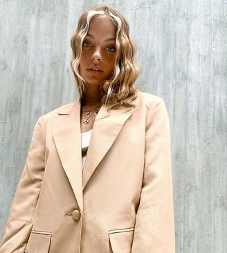 ASOS DESIGN Petite perfect blazer in camel