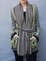Twelfth St. By Cynthia Vincent vintage ikat sweater