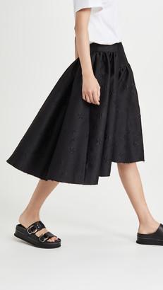 SHUSHU/TONG Curve Skirt