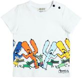Kenzo Cactus Printed Cotton Jersey T-Shirt