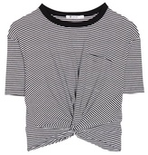 Alexander Wang Jersey crop top
