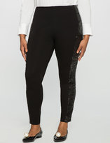 ELOQUII Plus Size Miracle Flawless Sequin Embellished Legging