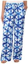 MICHAEL Michael Kors Tie-Dye Wide Leg Pants
