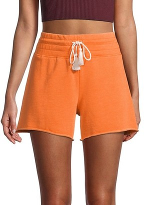 Betsey Johnson Knit Drawstring Shorts