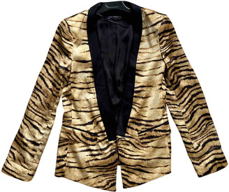 Zara Multicolour Polyester Jackets