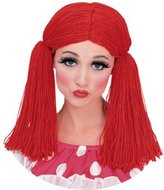 Rubie's Costume Co Std Adult Rag Doll Girl Costume Wig