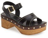 Topshop Women's 'Viv' Clog Sandals