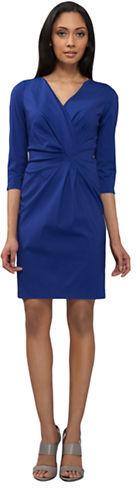 Lafayette 148 New York Italian Stretch Cotton Laurel Dress