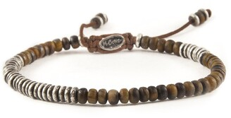 M. Cohen The Ingot Bracelet in Brown Tiger Eye