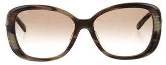 Jil Sander Oversize Marbled Sunglasses