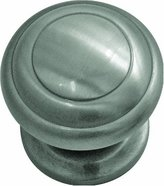 Hickory Hardware P2283-SN 1-1/4-Inch Zephyr Knob, Satin Nickel
