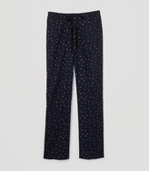 LOFT Dotted Pajama Pants