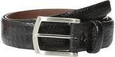 Torino Leather Co. 35mm Italian Gator Calf w/ Satin Nickel Buckle