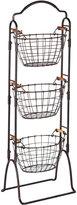 Mikasa Gourmet Basics 3 Tier Wire Market Basket
