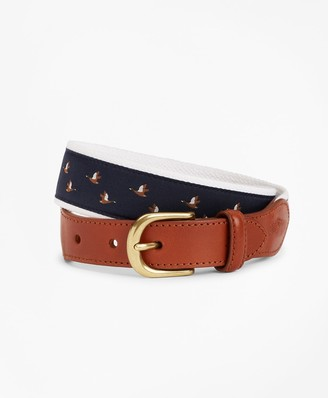 Brooks Brothers Boys Casual Duck Belt
