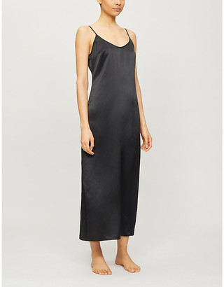 La Perla Long silk slip nightgown