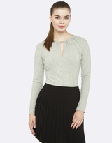 Oxford Sophie Keyhole Top
