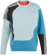 adidas Spacer colour-block neoprene sweatshirt
