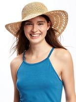 Old Navy Slouchy Straw Sun Hat for Women