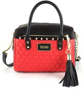 Betsey Johnson Barrel Satchel Bag (2 Piece)