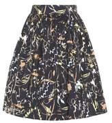 Peter Pilotto Taffeta jacquard mini skirt