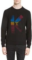 Kenzo Men's Flocked K Sweater