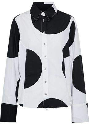Marques Almeida Marques' Almeida Polka-Dot Cotton-Poplin Shirt