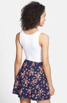 Lily White Skater Skirt (Juniors)
