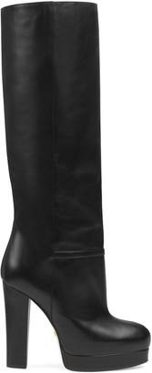 Gucci Leather platform boot
