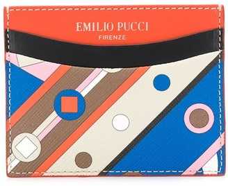 Emilio Pucci Vivara Baby print cardholder