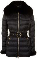 Roberto Cavalli Fox Fur Puffer Coat