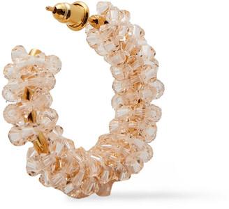Simone Rocha Gold-tone Crystal Earrings