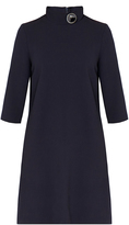 Goat Cupid Dark Navy Button Detail Dress