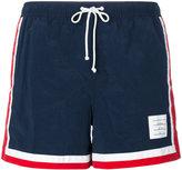 Thom Browne classic swimming trunks