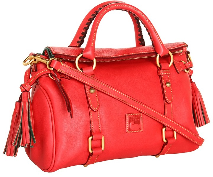 Dooney & Bourke Florentine Mini Satchel (Strawberry) - Bags and Luggage
