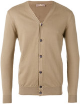Cruciani v-neck cardigan - men - Cotton - 50