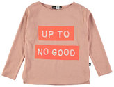 Molo Rachel Up to No Good Jersey Tee, Coral/Pink, Size 3-14