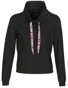 Armani Exchange HERDELIA women's Sweatshirt in Black