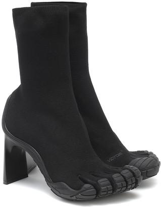 Balenciaga x Vibram FiveFingers High Toe ankle boots
