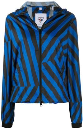 Rossignol x JCC hooded windbreaker jacket