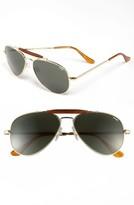 Randolph Engineering Men's 'Sportsman' 57Mm Sunglasses - Gold/ Agx