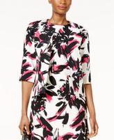 Kasper Floral-Print Blazer