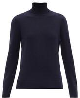 A.P.C. Sandra Wool Roll-neck Sweater - Womens - Navy