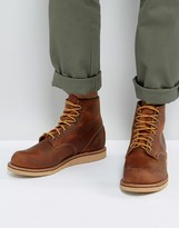 Red Wing Shoes Rover Leather Lace Up Boots In Copper
